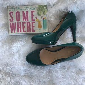 Cole Haan Chelsea Nike Air Pumps Shoes Teal 7B